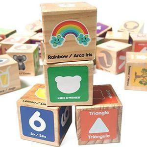 JEU D'APPRENTISSAGE Jeu D'Assemblage SDOQB alphabet blocs jouets pour