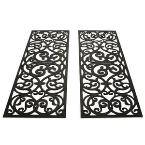 les 2 tapis de marche ext rieur antid rapant anti glisse. Black Bedroom Furniture Sets. Home Design Ideas