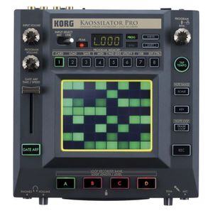 SAMPLER KORG Kaossilator Pro+ Machines