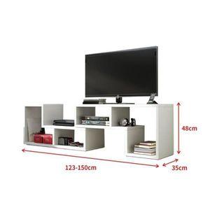 MEUBLE TV PERFECT Meuble 3 en 1 se transforme en Meuble tv,