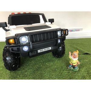 VOITURE ELECTRIQUE ENFANT 4x4 Hummer électrique 2 places 12V pour enfant