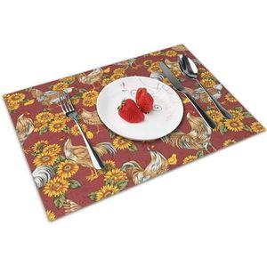 1 MALPLENA Set de Table pour Enfants Motif Husky Mignon Tapis de Table de Cuisine Sets de Table pour Table de Salle /à Manger R/ésistant /à la Chaleur Antid/érapant Lavable Polyester 1 Piece