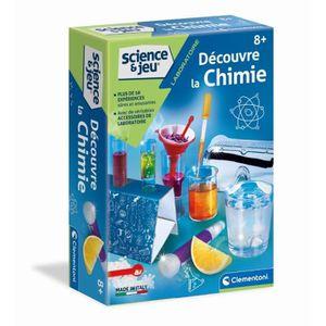 EXPÉRIENCE SCIENTIFIQUE CLEMENTONI Science & Jeu - Découvre la Chimie - Je