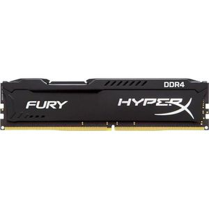 MÉMOIRE RAM HYPERX - Mémoire PC RAM - FURY DDR4 BLACK - 8Go -