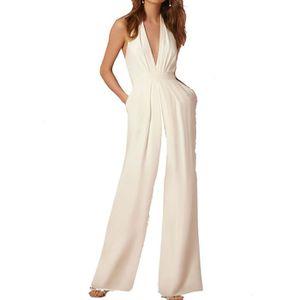 COMBINAISON Combinaison Pantalon Large Femme de Soirée Cocktai