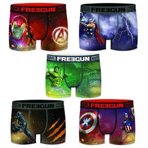 BOXER - SHORTY Lot de 5 Boxers enfant Freegun Marvel Avengers