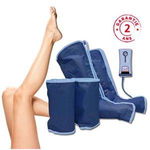 SOIN JAMBES LOURDES Air Leggy Plus Bottes de Pressothérapie Massage Re