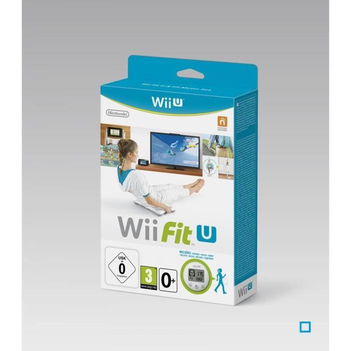 Wii Fit U Jeu Wii U + Wii Fit Meter