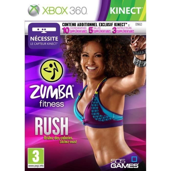 ZUMBA FITNESS RUSH / Jeu console XBOX 360