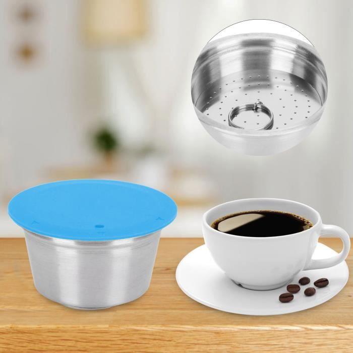 LOR Tasse de capsule Filtre Rechargeable Réutilisable en Acier Inoxydable Capsule de Café pour Dolce Gusto