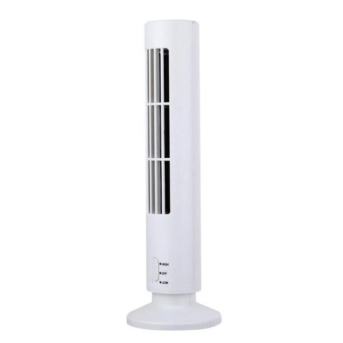 Nouveau Mini USB portable de refroidissement Climatiseur Purificateur Tour Bladeless Bureau Ventilateur fan671