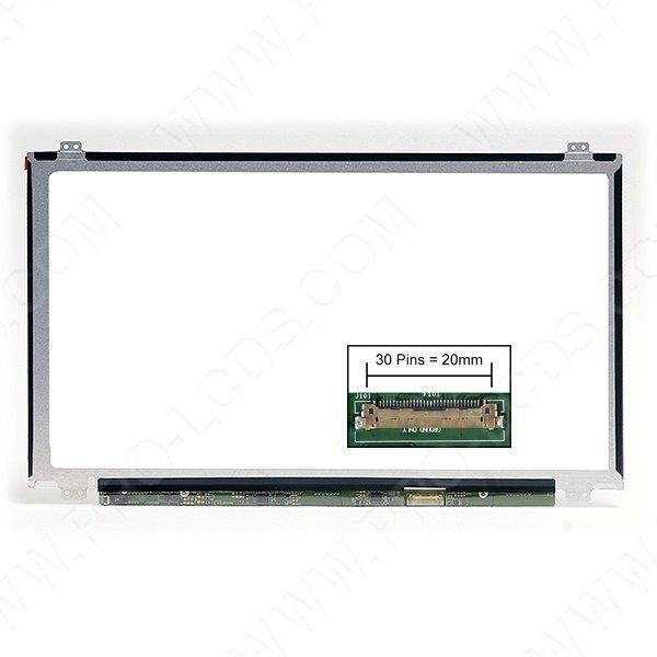 Dalle écran Lcd Led pour Ibm Lenovo Thinkpad P52s 20Lb0021us 15.6 1920x1080 Mate