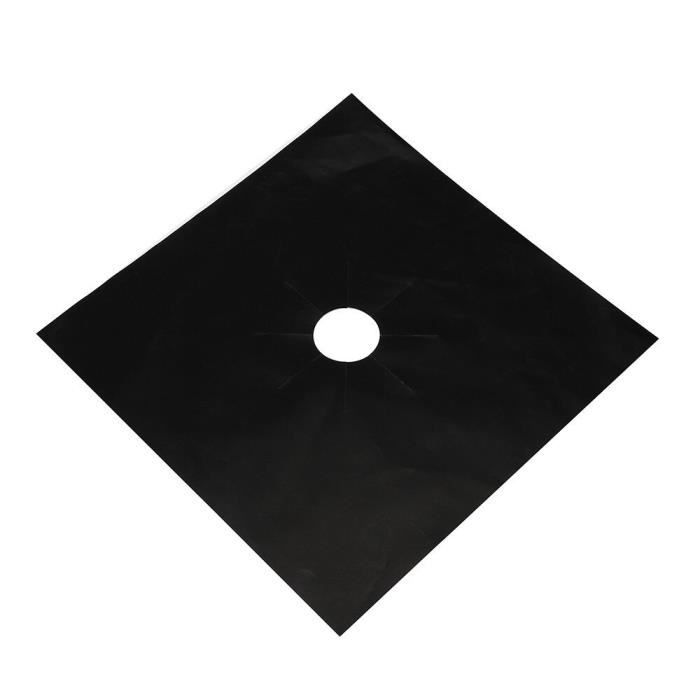 Couvre-plaques de cuisson universels - 2 pièces, plaques de protection, revêtement de four réutilis - Modèle: Black - WMGJMXA00272