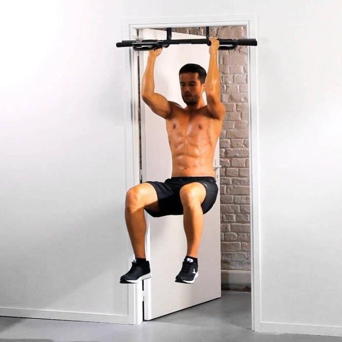 BARRE DE TRACTION ,GYM BARRE DE MUSCULATION POUR EXERCICE MUSCLE