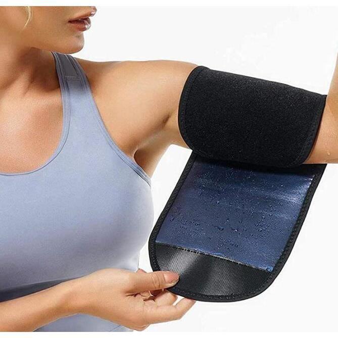 1 Paire Gaine Bras,Femme Manchon de Bras pour Femme Sauna Sweat,Compression Bras Manches Shaper Amincissant Minceur Musculation
