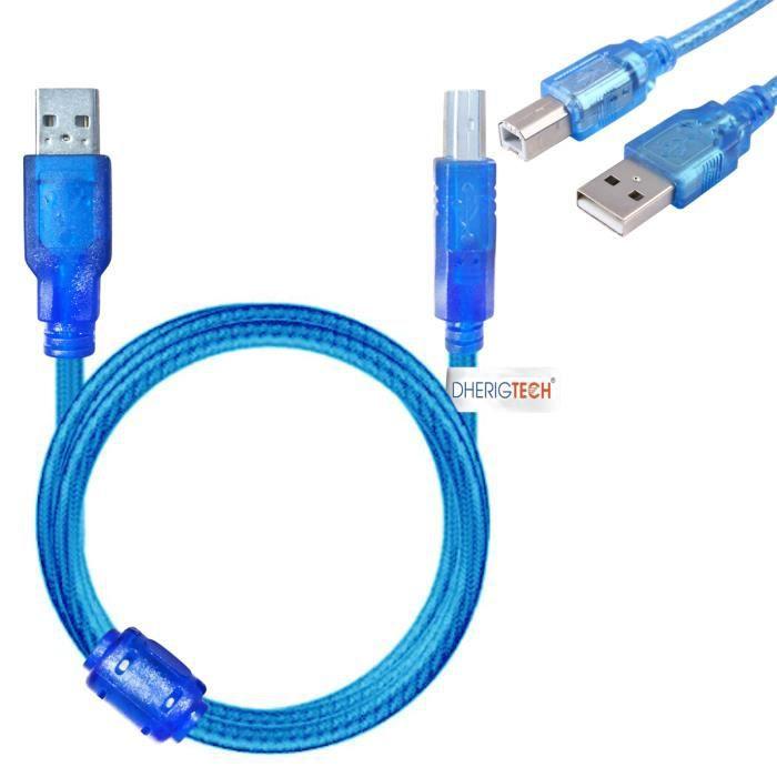 Câble USB Imprimante HP Envy 4500 e-All-In-One Printer (printer with setup inks + XL hp ink) & SCHNELLER DRUCK ZU PC - MAC - WINDOWS