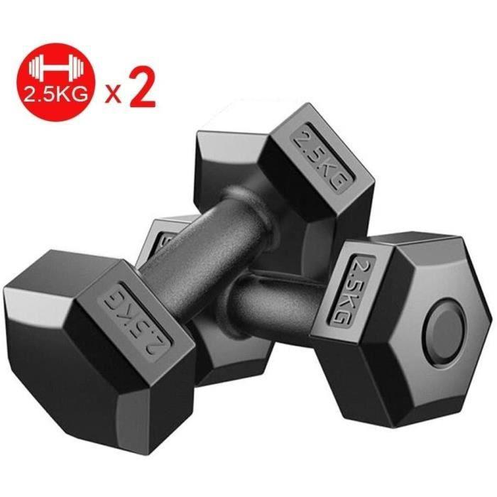 HALTERE YC Halt&egraveres Dumbbell Musculation Non r&eacuteglable halt&egravere Articles de Sport Mise en Forme Poids Main ha875