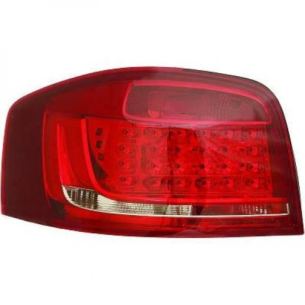 Kit de feux arrières version LED teinté AUDI A3 de 08 à 12 - 1032996