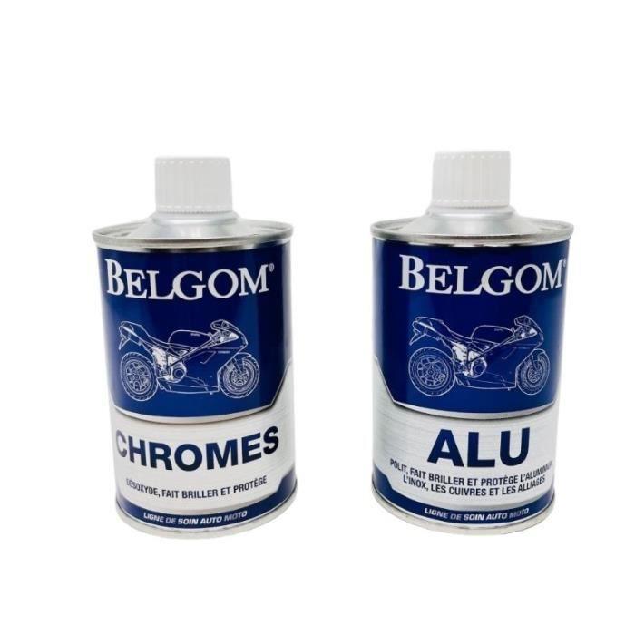 BELGOM - Pack Belgom Alu et Chromes