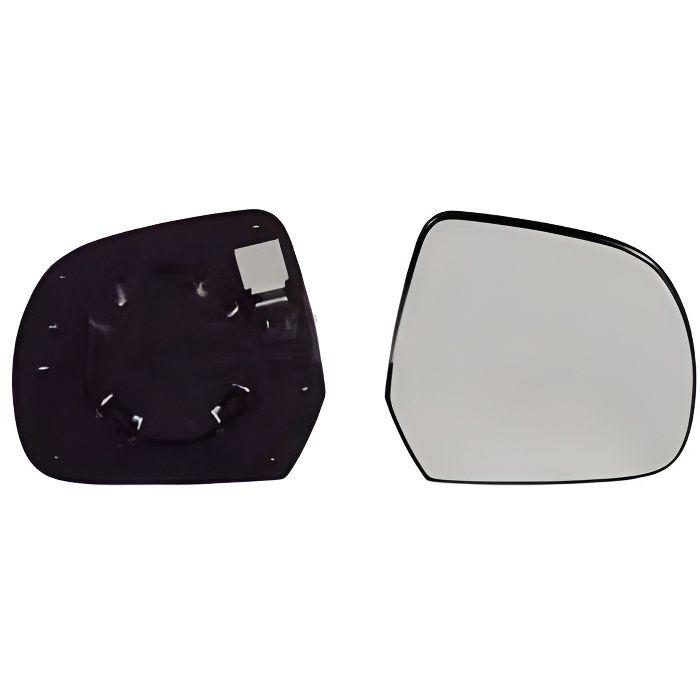 Miroir Glace rétroviseur droit DACIA DUSTER I phase 1, 2010-2013, à clipser, Neuf.