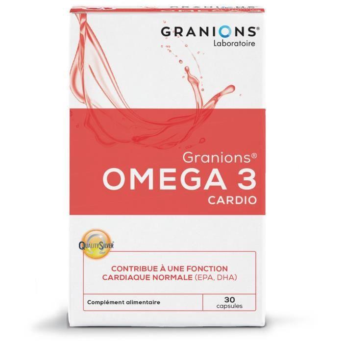 GRANIONS® OMEGA 3 CARDIO (30 CAPSULES)