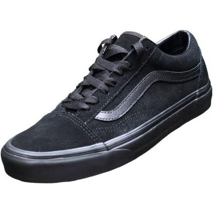 Basket Vans Old Skool Suede V8g1nri Black/black