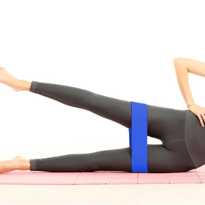 Fitness Resistance Bands Pilates Elastic Hip Circle Squat Resistance Bands Cercle Yoga Stretch Belt