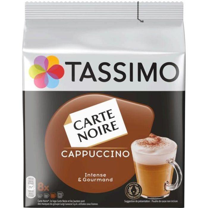 TASSIMO Cappuccino intense et gourmand - 16 capsules - 267 g