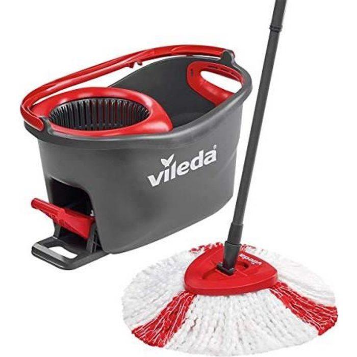 Vileda Easy Wring & Clean Turbo balai à frange + seau à pédale - set complet 153096
