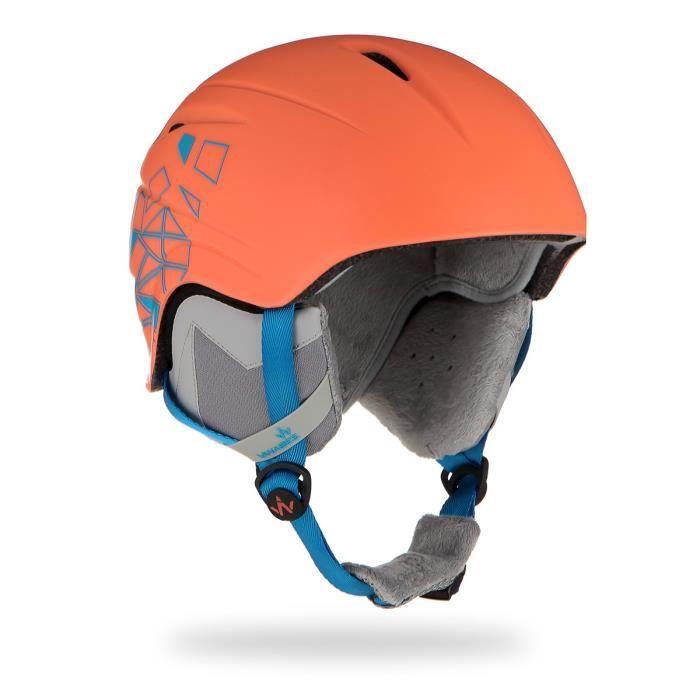 WANABEE Casque de ski ABS Darau - Enfant - Orange