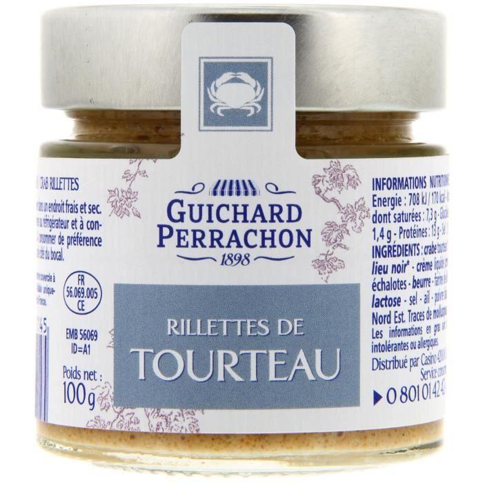 GUICHARD PERRACHON Rillette de tourteau - 100 g