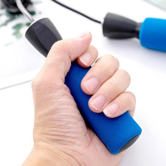 Corde à sauter corde à sauter Jeu Exercice Gym réglable Boxe Fitness Vitesse formation