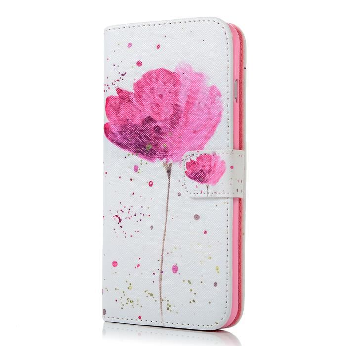 mavis s diary iphone6g plus etui en cuir fleur imp