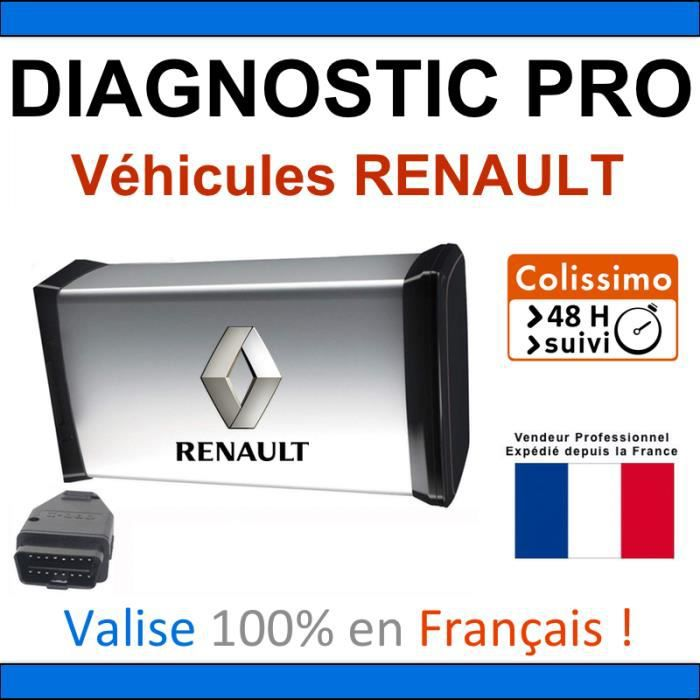valise de diagnostic pro pour renault mpm com can clip dialogys autocom delpho achat. Black Bedroom Furniture Sets. Home Design Ideas