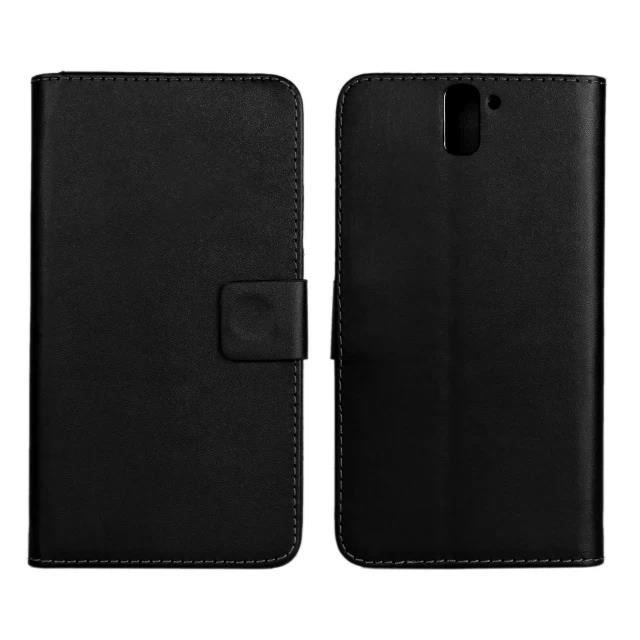 vg noir coque pour oneplus one 5 5 39 39 tui rabat en cuir portefeuille protection coque case. Black Bedroom Furniture Sets. Home Design Ideas