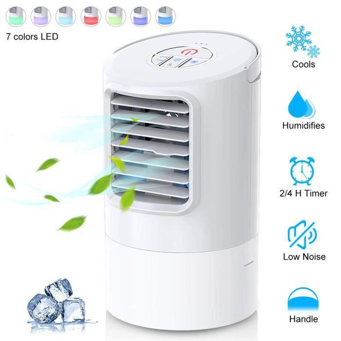 CLIMATISEUR MOBILE Climatiseur portable, refroidisseur d'air 4 en 1 V