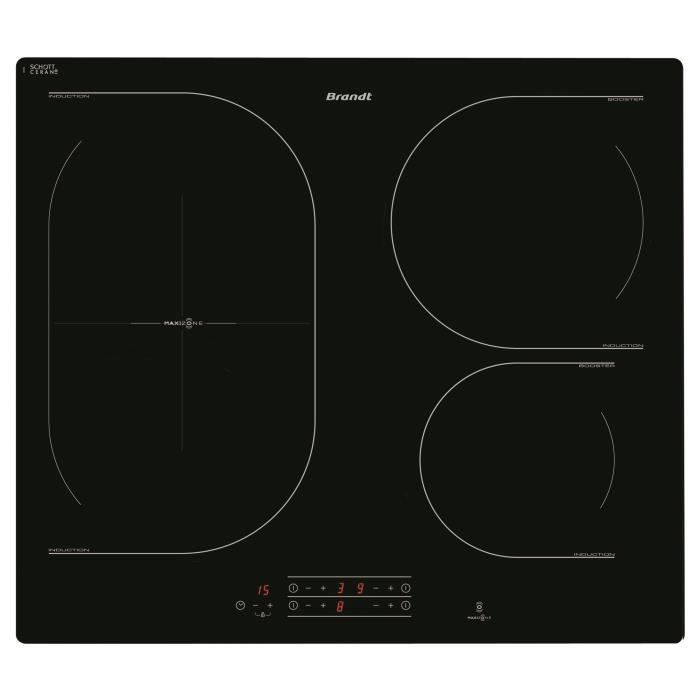 brandt ti1033b table de cuisson induction achat vente plaque induction cdiscount. Black Bedroom Furniture Sets. Home Design Ideas