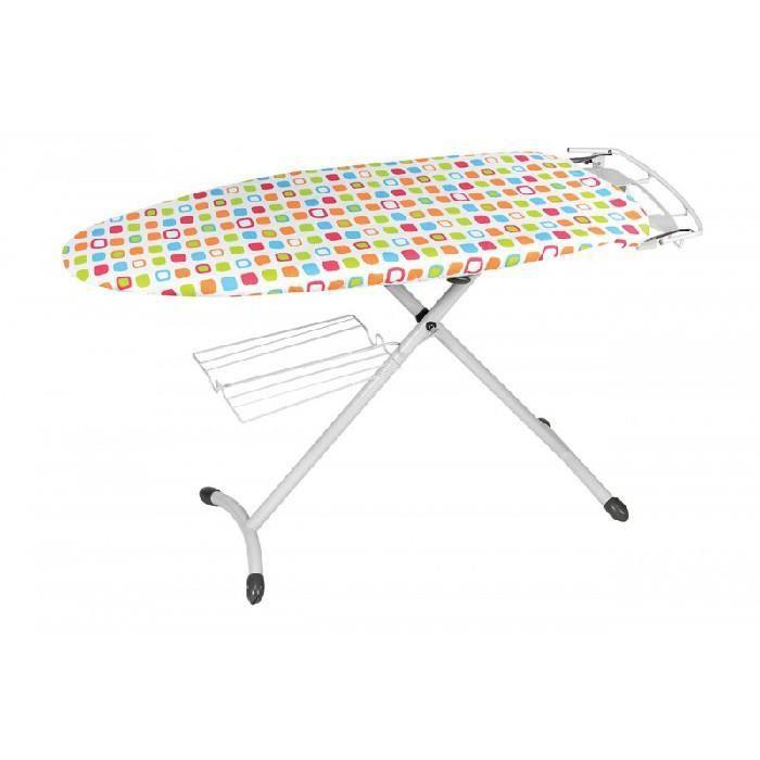 Housse Table Repasser Extensible Rebords Elastiques 149x 55 Cm