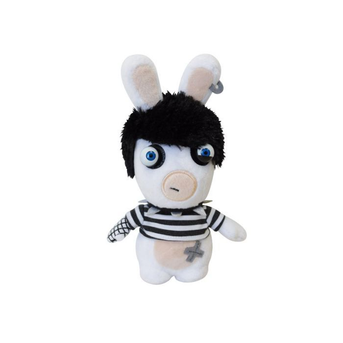 peluche lapin cr tin gothic 20cm achat vente peluche cdiscount. Black Bedroom Furniture Sets. Home Design Ideas