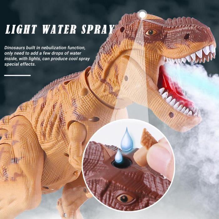 Dinosaures mobiles Mastodonte avec éclairage Sound Dino DEL électrique