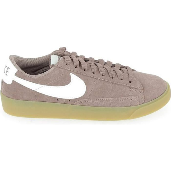 detailed look fcaf5 da4d3 Basket -mode - Sneakers NIKE Blazer Low Mauve AV9373-201