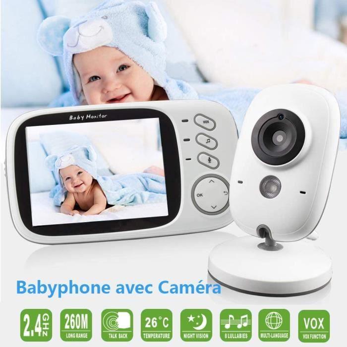 Bébé Moniteur Caméra Add-on bébé Caméra Unité eufy Sécurité Moniteur Bébé Vidéo,