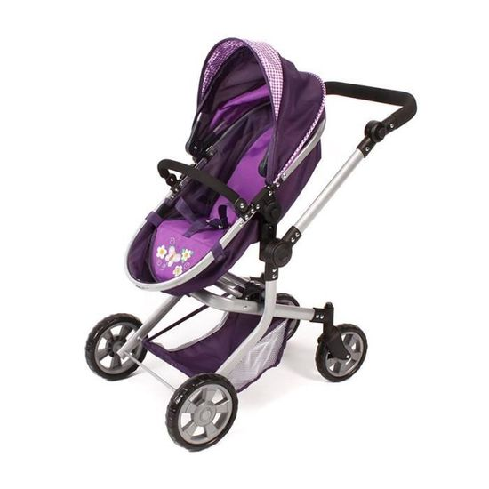 Bayer CHIC 2000 Combi-poupées voiture road star prune NEUF
