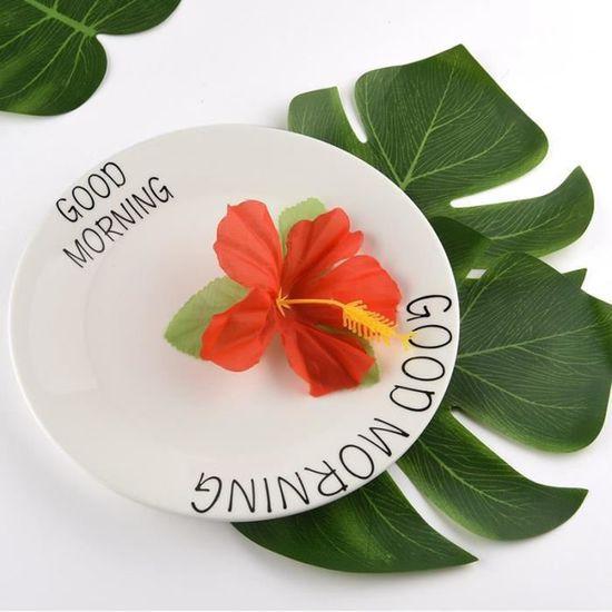Hawaiian Hibiscus Tourbillon Suspendu Décorations X 12