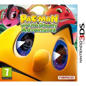 JEU 3DS Pac-Man et Les Chasseurs de Fantômes Jeu 3DS