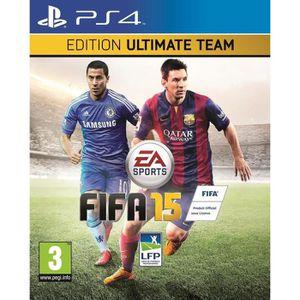JEU PS4 FIFA 15 Edition Ultimate Team Jeu PS4