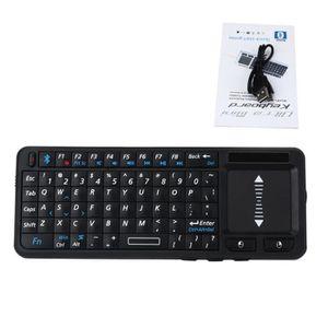 CLAVIER D'ORDINATEUR 2.4G Universal mini clavier sans fil avec pavé tac