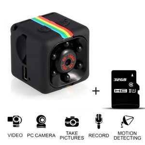CAMÉRA SPORT SQ11 Mini Full HD 1080P Enregistreur DVR Caméra DV