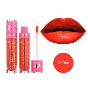 ROUGE A LEVRES  Rouge à lèvres romantique mai imperméable Long Lasting Matte liquide Rouge à lèvres cosmétiques BIO#3195