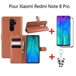 HOUSSE - ÉTUI Housse Xiaomi Redmi Note 8 Pro Housse Luxe Anticho